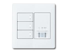 【組合せ品】スイッチセット ほたるスイッチB(片切)×2、ほたるスイッチC(3路)×1、熱線センサ付自動スイッチ(親器・多箇所検知形)(2連用) パナソニック(Panasonic)