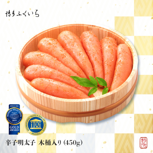 辛子明太子 木桶入り(450g)
