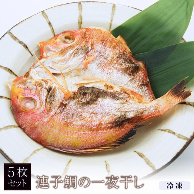 【新商品】連子鯛の一夜干し (5枚)[ビニール詰]