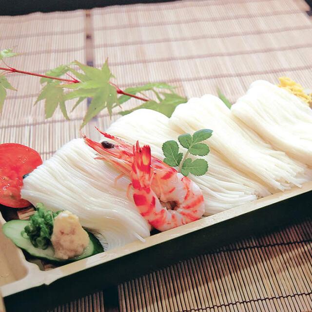 手延べ素麺