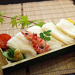 手延べ素麺 イメージ