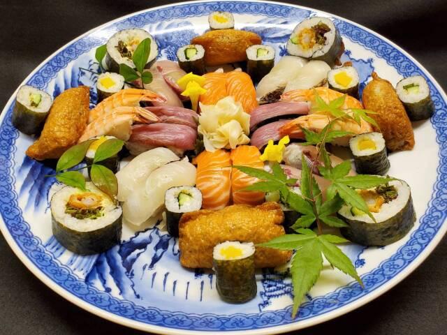 寿司盛合せ(3~4人前)