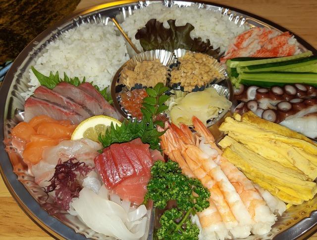手巻き寿司セット(3~4人前)
