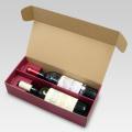 N式 ロングワイン2本入れ用 箱 内寸:355×162×84 1セット100枚
