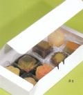 和菓子サービス箱CA3(カップ・ワンタッチ式) 63x183x45 1セット100枚