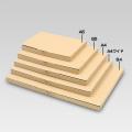 メール便対応N式箱(深口タイプ20mm以内対応) 茶 A4ワイドタイプ 1セット100枚