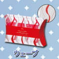 エアロケース ウェーブ AO120  【オーバルタイプクリアケース】 1セット 50枚 1枚164円(税抜)