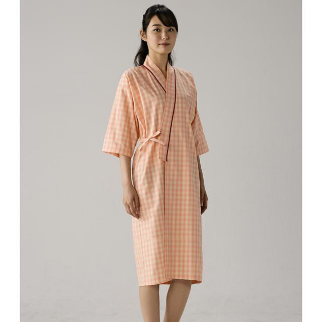 59-411 モンブラン製品 男女兼用 患者衣ガウン 八分袖 59-413 59-415