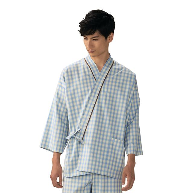 59-421 モンブラン製品 男女兼用 患者衣 上衣 八分袖 59-423 59-425