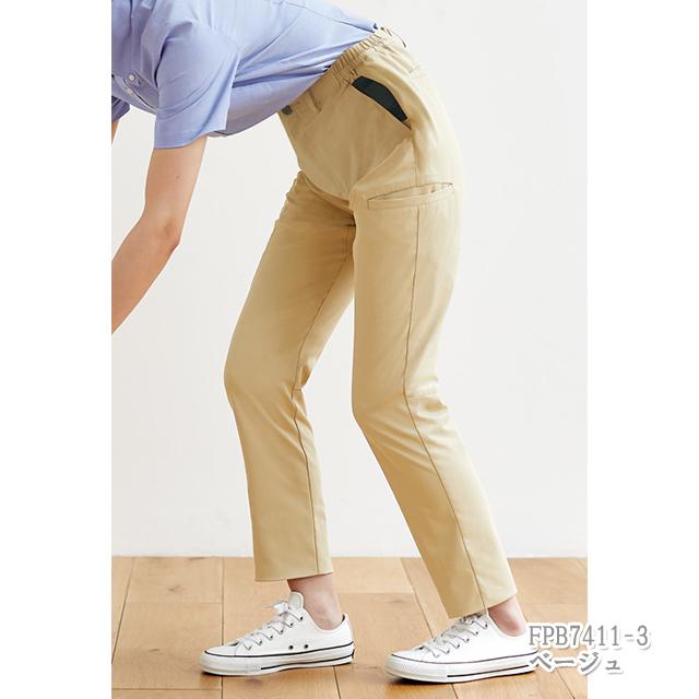 FPB7411 男女兼用 腰ケアパンツ(腰部サポートベルト付) モンブラン製品