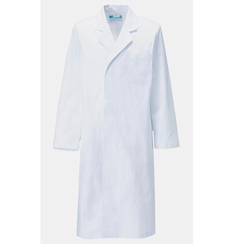 110-20 アプロン メンズ診察衣シングル型 長袖 綿100%