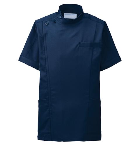 253-20 アプロン アレニエジャケット メンズ半袖 スポーティーなケーシースタイル