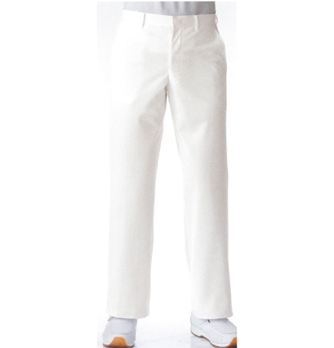 257 KAZENカゼン メンズスラックス ホワイト サックス