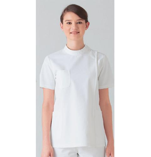 263-10 アプロン 医務衣 レディス半袖 快適な作業性を追及したケーシースタイル