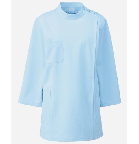 268 アプロン 医務衣 レディス七分袖 快適な作業性を追及したケーシースタイル