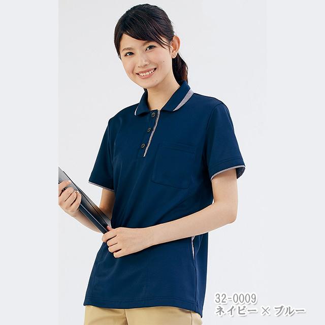 32-000 レディス ニットシャツ 半袖 モンブラン製品