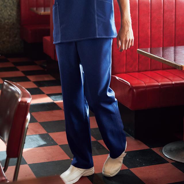 5022SC Dickies ディッキーズ ストレートパンツ 男女兼用(フォーク)[動きやすい ストレッチ 耐久性 白衣 ドクター ナース 介護 病院 医院 クリニック]