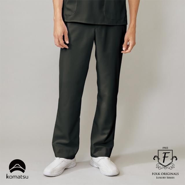 5025SC フォーク ドクターウェア メンズ パンツ 男性用 医療用 医師 ドクター 白衣