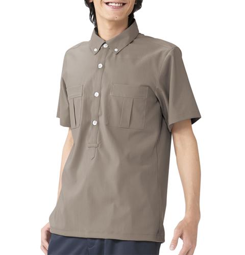 624 吸汗速乾素材で快適な着心地 メンズシャツ アプロン