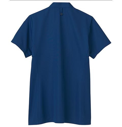 72-611 男女兼用スクラブ ホワイト モンブラン 女性にも着やすいスクラブ