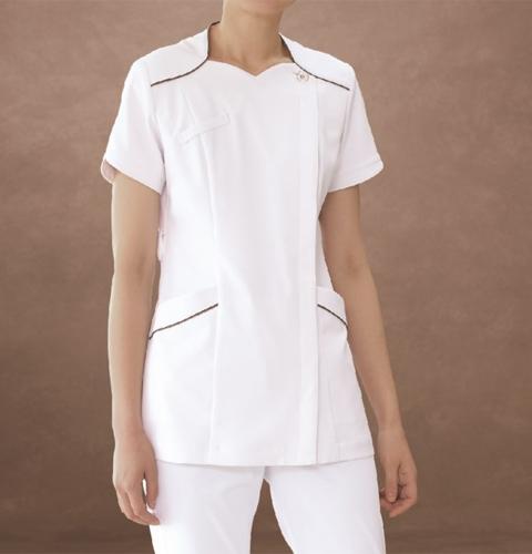 73-2202/2204/2206 ナースジャケット[モンブラン 白衣 医療用 女性用 レディース 半袖]