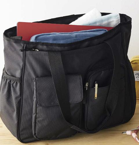 AKB1000-01 モンブラン バッグ  2WAY ブラック(医療用 介護用 看護用 訪問 ナース ヘルパー 黒 通販 白衣ネット)