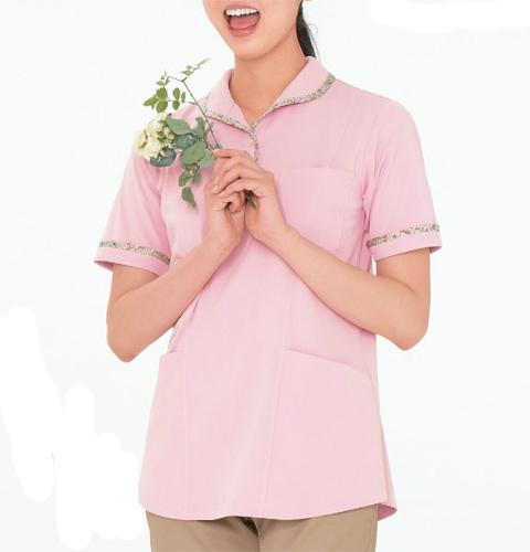 CX2962 ナガイレーベン(Naway)LIBERTYPRINT 女性用ニットシャツ