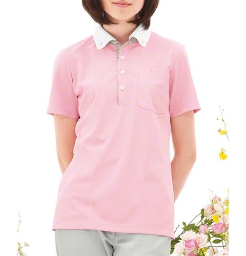 CX2977 ナガイレーベン(Naway)LIBERTYPRINT男女兼用ニットシャツ