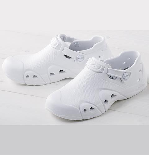 F-911 富士ゴムナースシューズ ノベルナース ホワイト[男女兼用 フジゴム 医療用 シューズ 靴 抗菌 防臭]