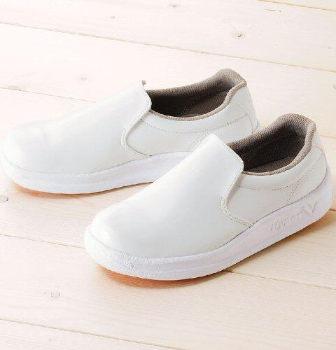 V5000 富士ゴムナース 滑らない靴 ハイパーV5000 厨房シューズ hyperv 滑りにくい靴 コックシューズ 軽量 抗菌防臭 フジゴム 水・油・石鹸水でも滑りにくい 驚異のグリップ力 小さいサイズ 大きいサイズ