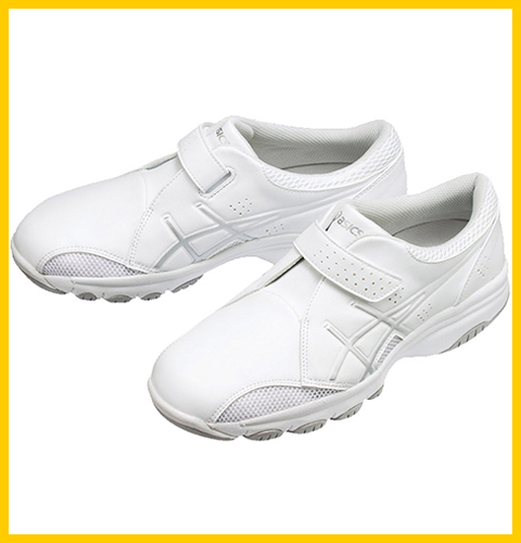 FMN300 アシックス ナースシューズ ホワイト 男女兼用 ナースウォーカー300(即日出荷商品)