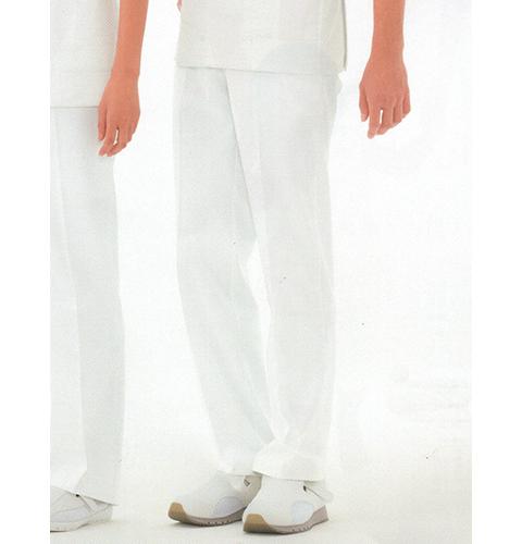 HO1903 ナガイレーベン(Naway) 男性用 ナースパンツ ローライズ ノータック、脇ゴム、両脇ポケット、ストレッチ