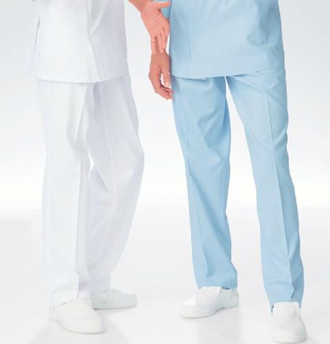 KES5163 ナガイレーベン(Naway)kexstar ケックスター 男子スラックス[メンズ 男性用 パンツ ズボン 白衣 ホワイト]