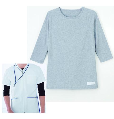 LI5097 ナガイレーベン オールシーズン対応インナー 男女兼用Tシャツ [医療用 医師 ドクター 看護師 ナース]