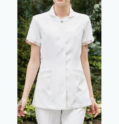 LW801 LAURA ASHLEY ローラアシュレイ ナースジャケット[モンブラン 白衣 医療用 女性用 レディース]