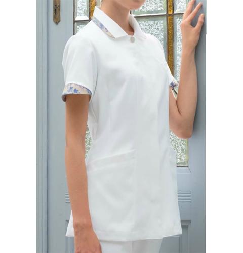LW803 LAURA ASHLEY ローラアシュレイ ナースジャケット[モンブラン 白衣 医療用 女性用 レディース]