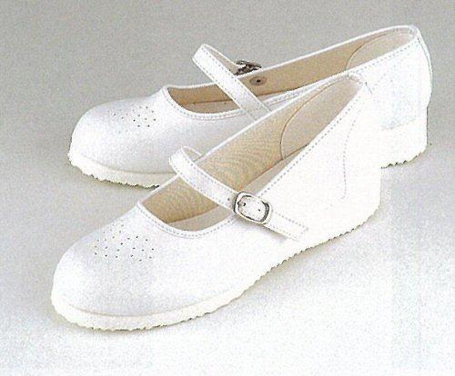 M32 マリアンヌ ナースシューズ ワンタッチベルトタイプ 女性用 合成レザー 3E ヒール 3cm MARIANNU 医療用 看護師 レディース レディス 女子 パンプス メディカルシューズ メディカルサンダル ナース靴