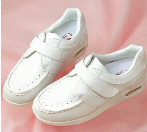M3810 マリアンヌ ナースシューズ マジックタイプ 女性用 3E ヒール 4cm 合成皮革 EVA ラバー 滑りにくい MARIANNU 医療用 看護師 レディース レディス 女子 メディカルシューズ ナース靴 ナーススニーカー