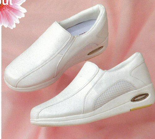 M3860 マリアンヌ ナースシューズ スリッポンタイプ 女性用 3E ヒール 4cm 合成皮革 EVA ラバー メッシュ 滑りにくい MARIANNU 医療用 看護師 レディース レディス 女子 メディカルシューズ ナース靴