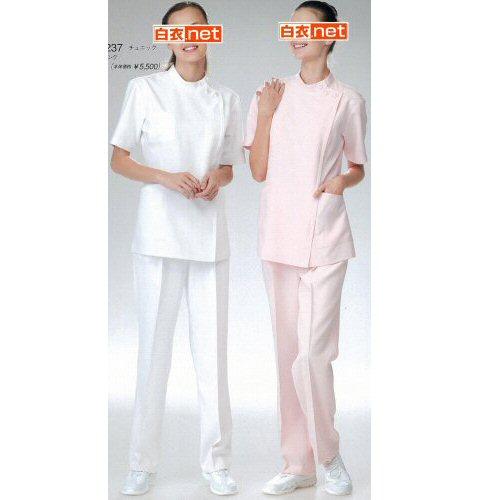 MT2237 ナガイレーベン(Naway)DoctorTop 女子横掛半袖