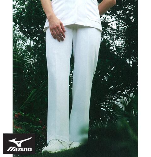 MZ-0014 ミズノ 快適素材パンツ 女性用【制菌 ストレッチ 透防止 吸汗 制電 ホワイト ピンク ブルー 医療 白衣 看護 女性用 制服 大きいサイズ 4L 5L】