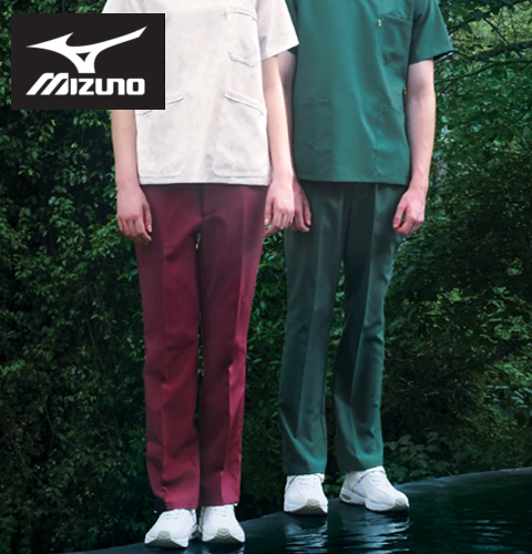 MZ-0022 ミズノ 男女兼用スクラブパンツ(定番の3色)【制菌 制電 小さいサイズ 白衣 医療 看護 手術 ドクター 医者 制服 SS】