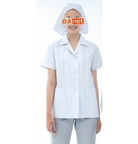 NP432 女子食品衣半袖(衿付)