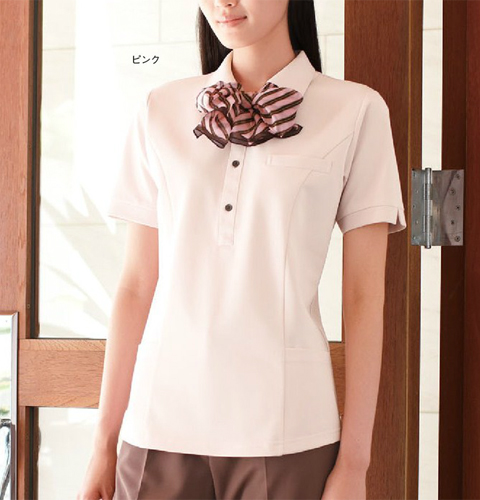 NX5252 ナガイレーベン(Naway)ホスピタリティをこめた高級感!男女兼用ニットシャツ