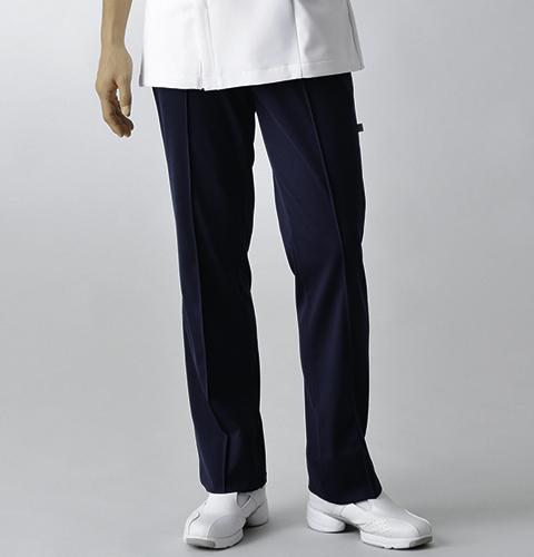 UQM2001V ル・コック 色移りしにくいネイビー 男子 医師 ナースパンツ