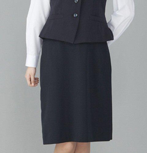 FS45801 ウエストゴム Aラインスカート