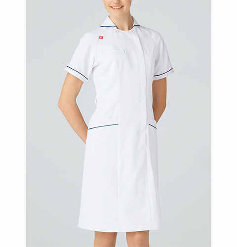 UQW0028 ルコックスポルティフ lecoqsportif ワンピース[白衣 ナースウェア 看護師 女性用 送料無料]