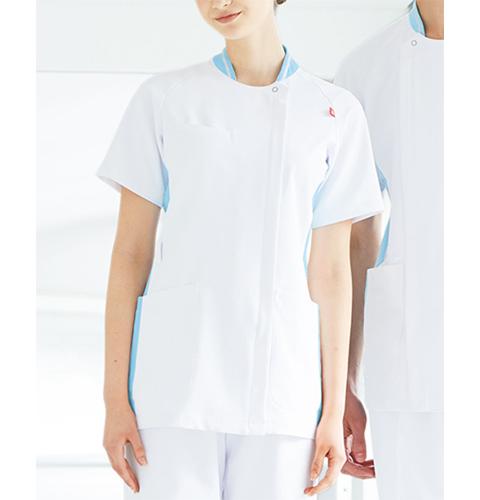 UQW1035 ルコック レディスジャケット[le coq sportif 白衣 ナースウェア 介護 女性用 病院 医院 クリニック ストレッチ]