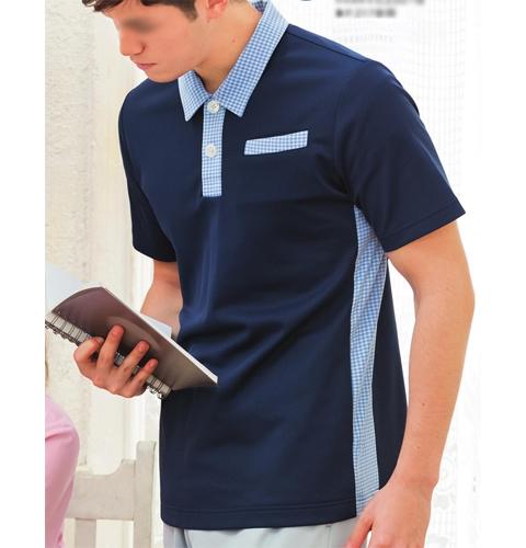 APK236 男女兼用ニットシャツ KAZENカゼン