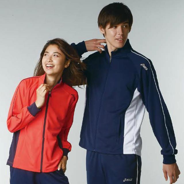 chm511 アシックス 男女兼用 トレーニングジャケット モンブラン製品